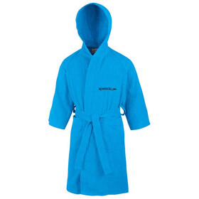 speedo Microterry Bathrobe Kinder japan blue